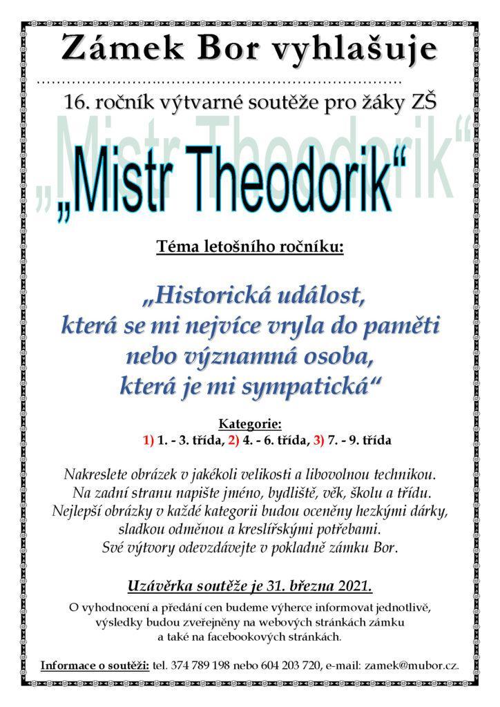 Mistr Theodorik plakat 2021
