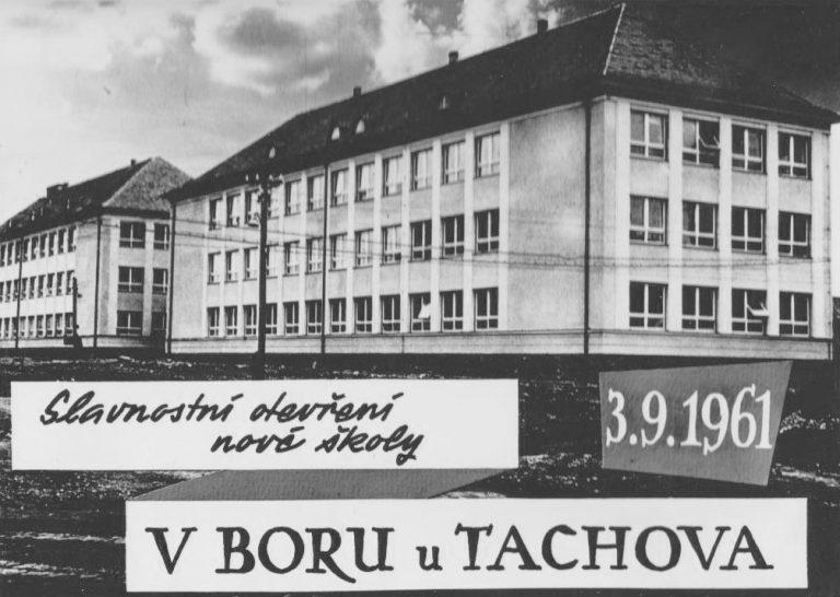 ZS Bor 60 vyroci Skola 1961