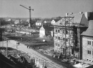 ZS Bor - 60 vyroci - Stavba školy 1
