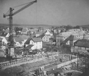 ZS Bor - 60 vyroci - Stavba školy 6